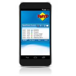 FRITZ!App Ticker