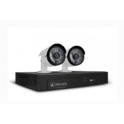 Kit videosorveglianza  8 porte PoE